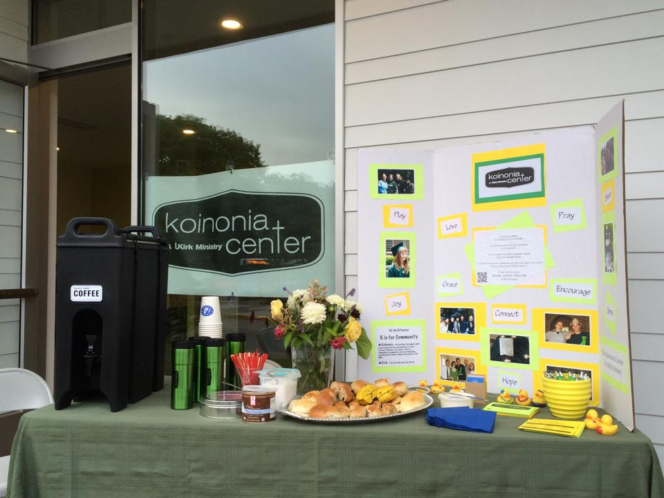 The K-Center welcomes back students to UO